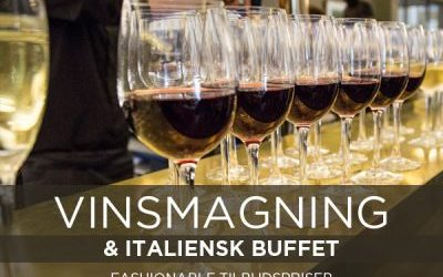 WINE TASTING with Italian Buffet at La Rocca – Saturday, 25 May 2019 at 12:30