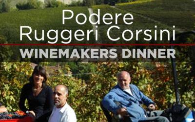 Winemakers Dinner PODERE RUGGERI CORSINI på La Rocca, onsdag d. 13. februar, kl 18.30